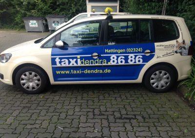 Taxi-Dendra-Wagen